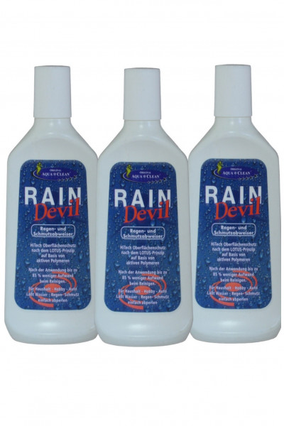 AQUA CLEAN Rain Devil 3x250ml