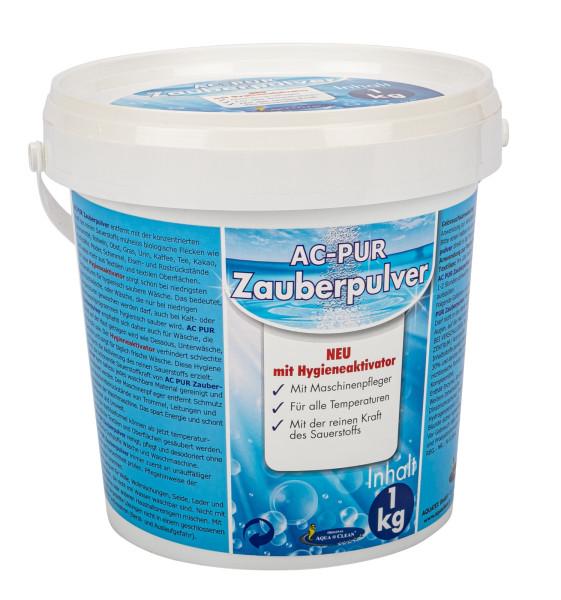 AQUA CLEAN PUR Zauberpulver 1kg mit Hygieneaktivator