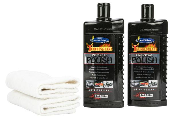 AQUA CLEAN Teufelsglanz PKW Hochglanz- Lackversiegelung 2 x 500 ml