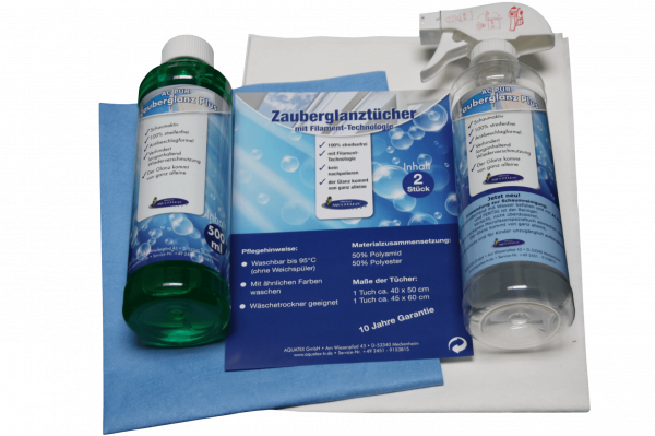 AQUA CLEAN PUR Zauberglanz Plus 4er Set
