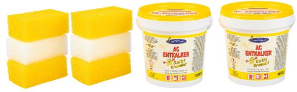 AQUA CLEAN Calki Granulat 8er Set