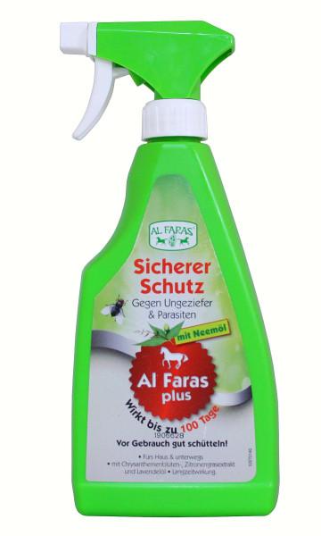 AL FARAS Insektenschutz für Umgebung & Oberflächen 500ml ! Neu mit Neemöl !