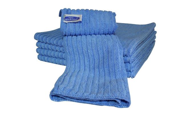AQUA CLEAN Bodentuch mit Hochtief Struktur 5er Set