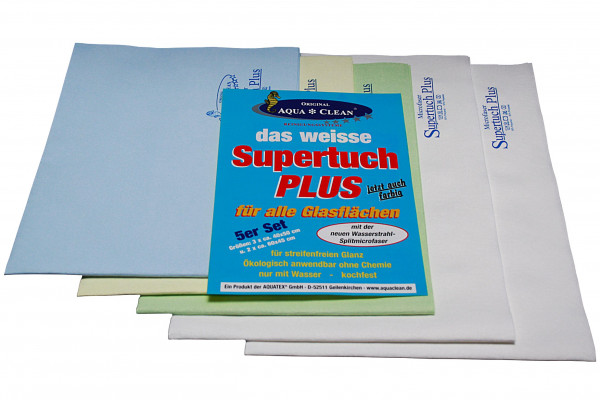 AQUA CLEAN Supertuch Plus 5er Set
