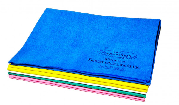 AQUA CLEAN Supertuch Extra Shine Reinigen, Polieren & Trocknen 8tlg.