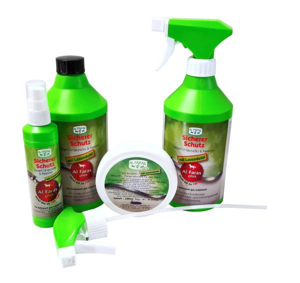 AL FARAS Insektenschutz mit Lavendelöl und Chrysantemenblüten- extrakt 4tlg.