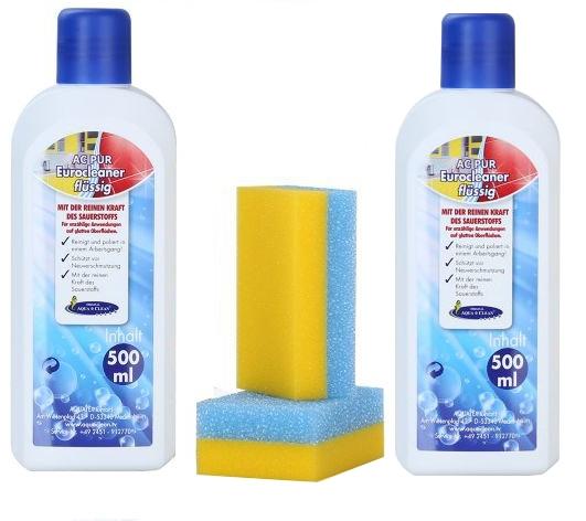 aqua clean pur eurocleaner fl ssig 4er set aqua clean. Black Bedroom Furniture Sets. Home Design Ideas