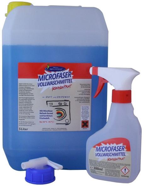 AQUA CLEAN Microfaser Vollwaschmittel 5l Konzentrat