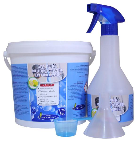 AQUA CLEAN PUR Entkalker Granulat lebensmittelecht 1,75kg