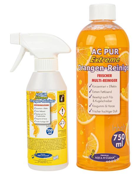 AQUA CLEAN PUR Extreme Orangenreiniger Konzentrat 750ml