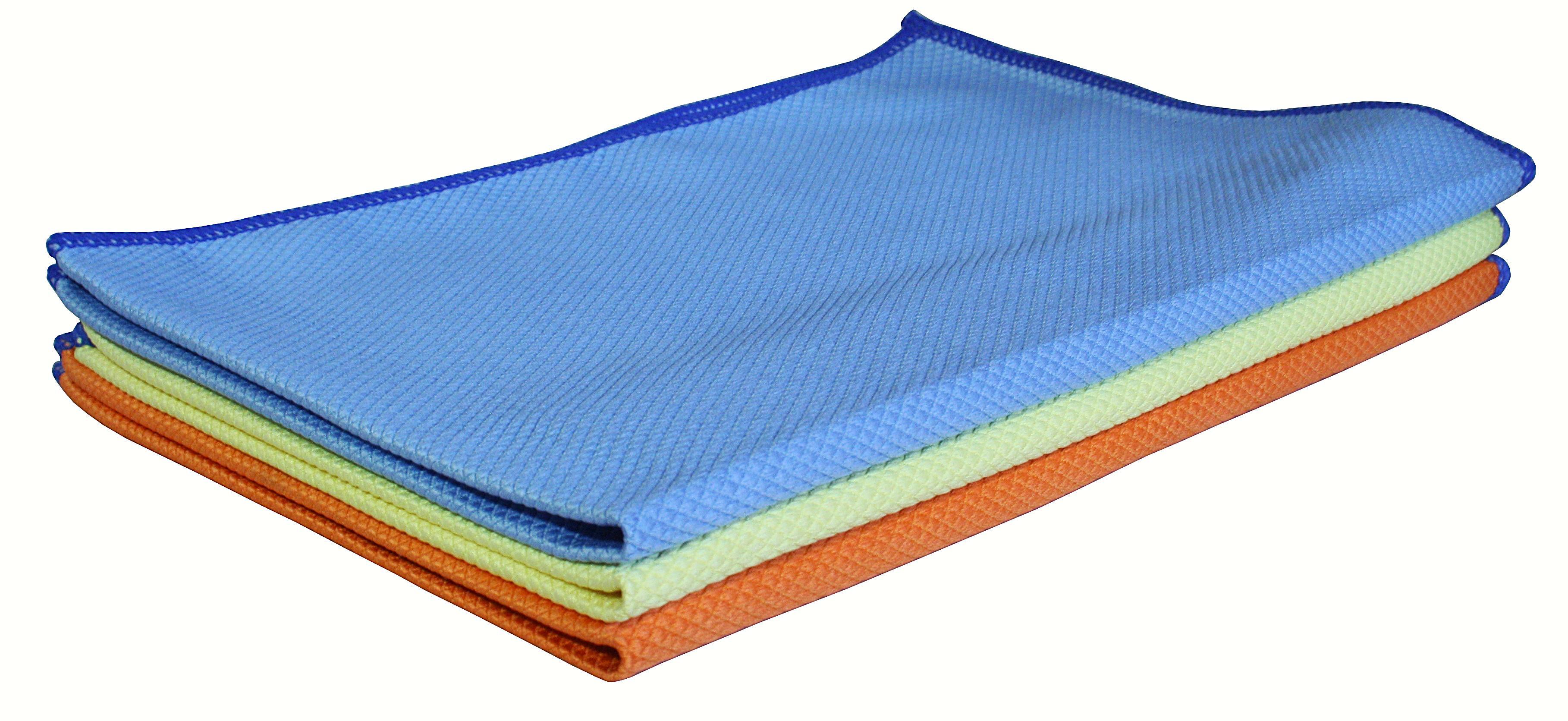 Aqua Clean KOI Tücher  Fenstertuch 3er Set 40 x 60 cm Fenstertücher Set  KOITUCH