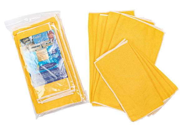 AQUA CLEAN Kristall Allround Tücher Gold Edition 8-tlg.