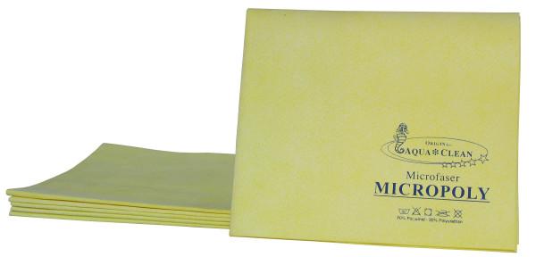 AQUA CLEAN Kristall Micropoly Reinigungstücher für glatten Oberflächen, 6tlg.