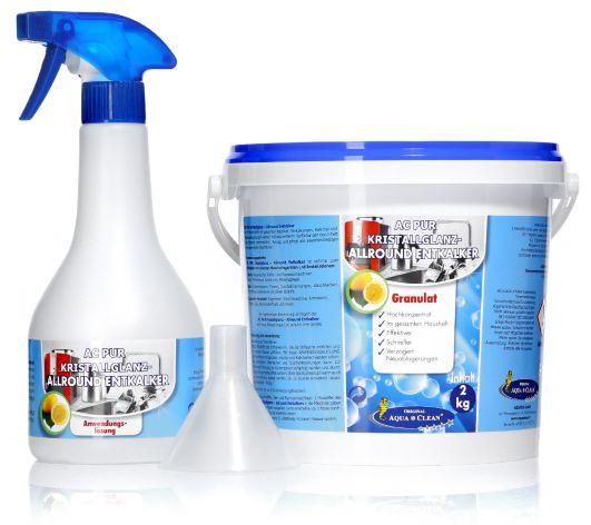 AQUA CLEAN Pur Kristallglanz-Allround Entkalker 2kg