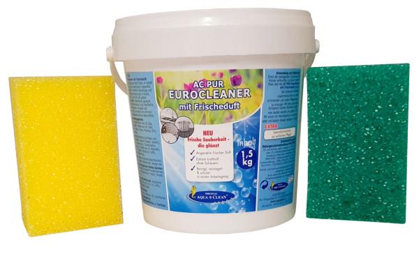AQUA CLEAN PUR Eurocleaner reinigt, versiegelt & schützt in einem Arbeitsgang, 1,5kg