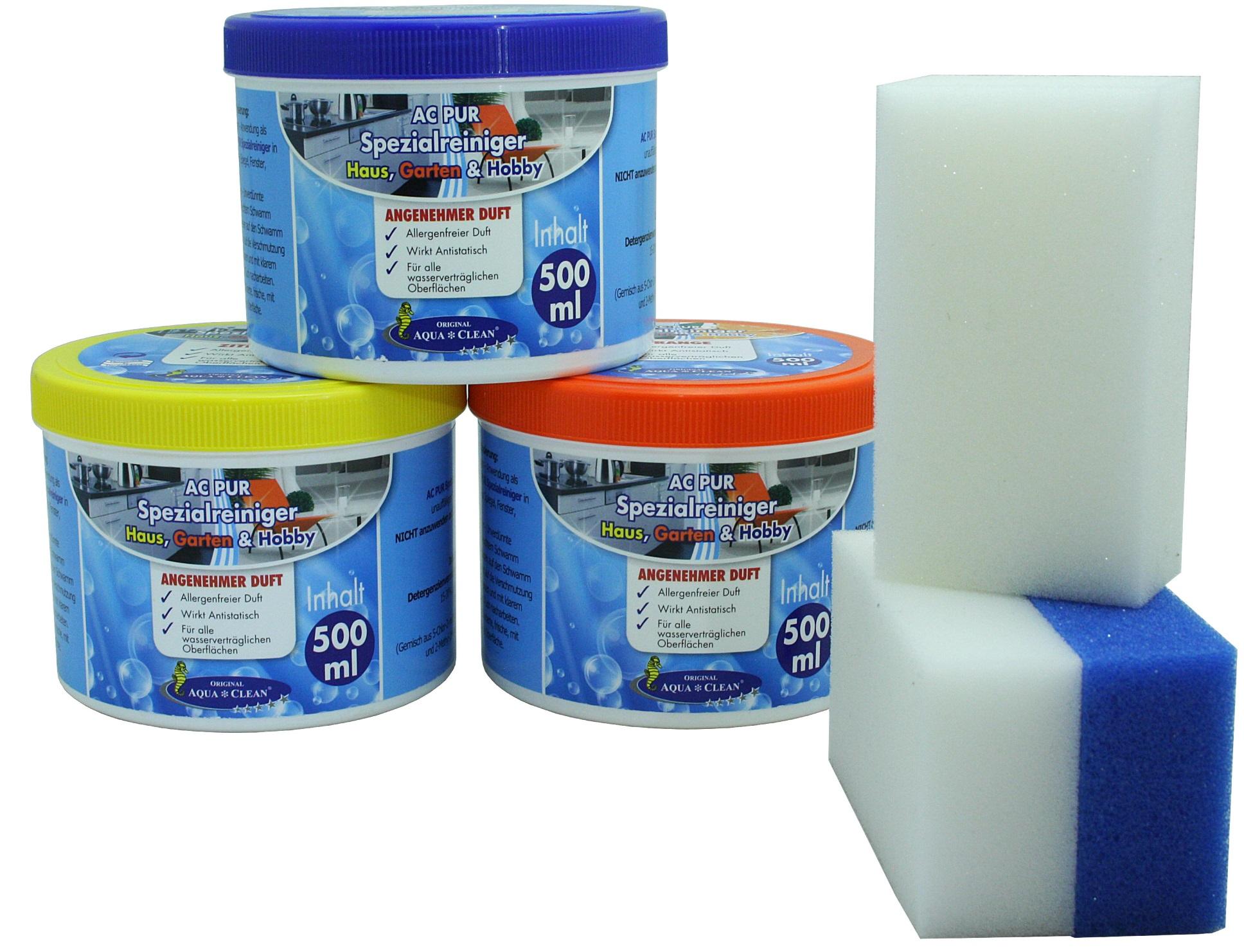 aqua clean pur spezial reiniger f r haus garten mit. Black Bedroom Furniture Sets. Home Design Ideas