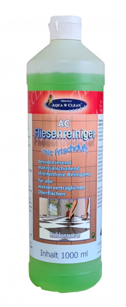 AQUA CLEAN Fliesenreinger mit Frischeduft 1l
