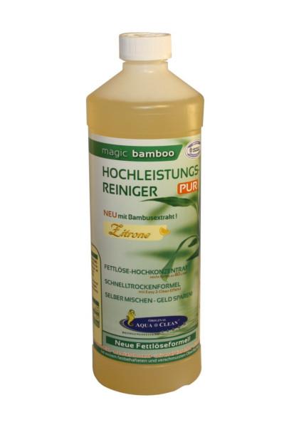 AQUA CLEAN Magic Bamboo Hochleistungsreiniger 1l Zitrone