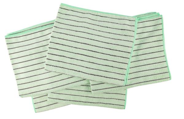 AQUA CLEAN Kristall Carbotex Bodentuch grün 5er Set