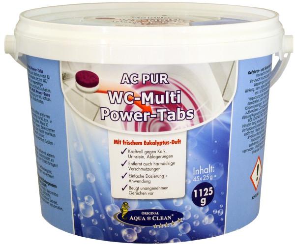 AQUA CLEAN PUR WC-Multi Power-Tabs 1,125g ( 45St. )