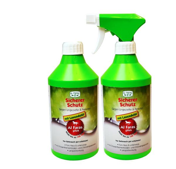 AL FARAS Insektenschutz mit Lavendelöl 2x 600ml