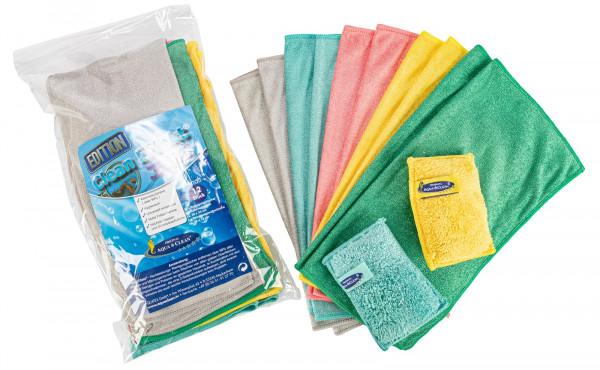 AC Clean Effekt Reinigungst. & Schwämme, keim- reduzierend, 12tlg. inkl. 2 Schwämme