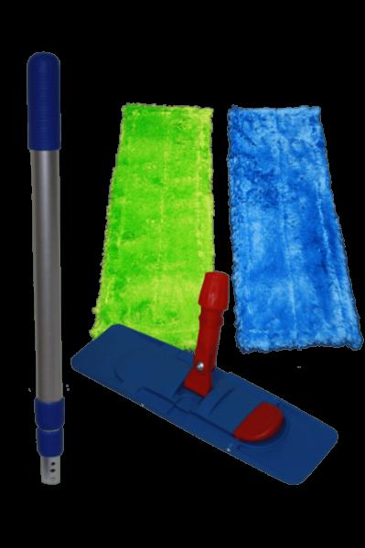 AQUA CLEAN Magnet Wischsystem 4er Set