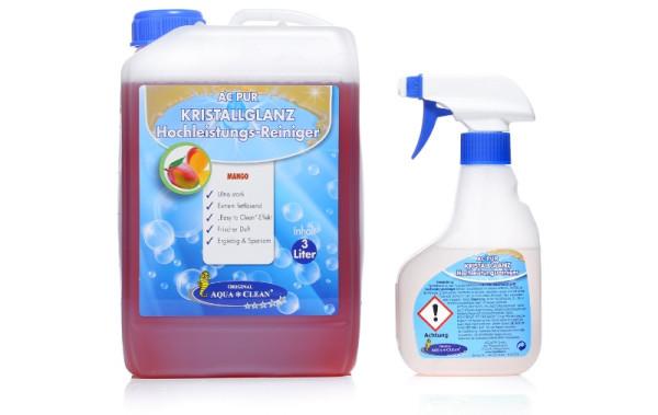 AQUA CLEAN PUR Kristallglanz Hochleistungsreiniger 3l Konzentrat