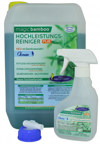 AQUA CLEAN Magic Bamboo Hochleistungsreiniger 5l