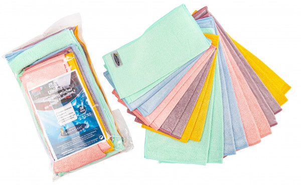 AQUA CLEAN Kristall Ultimo Reinigungstücher extrem saugstark 20tlg.