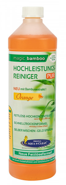 AQUA CLEAN Magic Bamboo Hochleistungsreiniger 1l