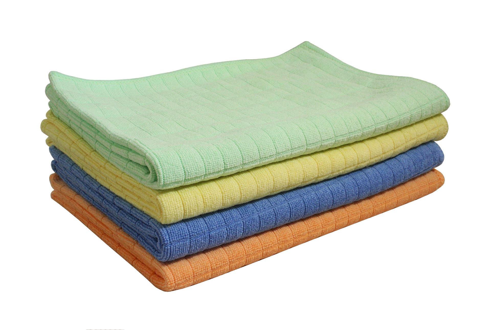 40 x 60 cm 4-farbig Abtrockentuch Tuch 8 Aqua Clean  Bambus Geschirrtuch ca